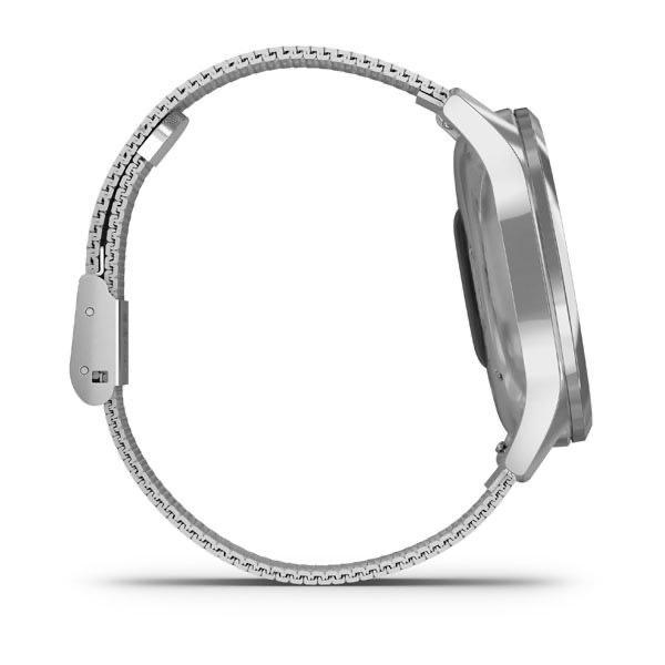 ساعت گارمین Vivomove luxe silver milanese