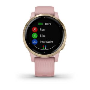 ساعت گارمین vivoactive 4s dust rose