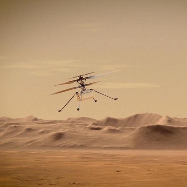 گارمین در مریخ