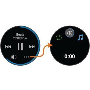 موسیقی در ساعت هوشمند گارمین