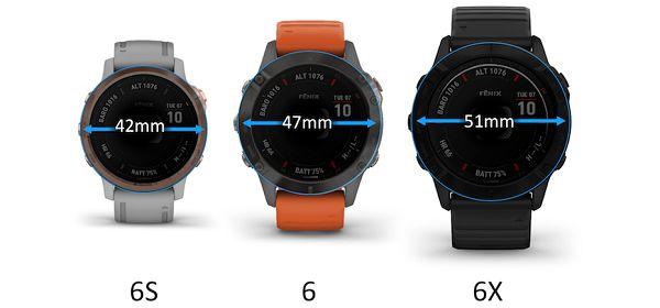تفاوت ساعت های fenix 6